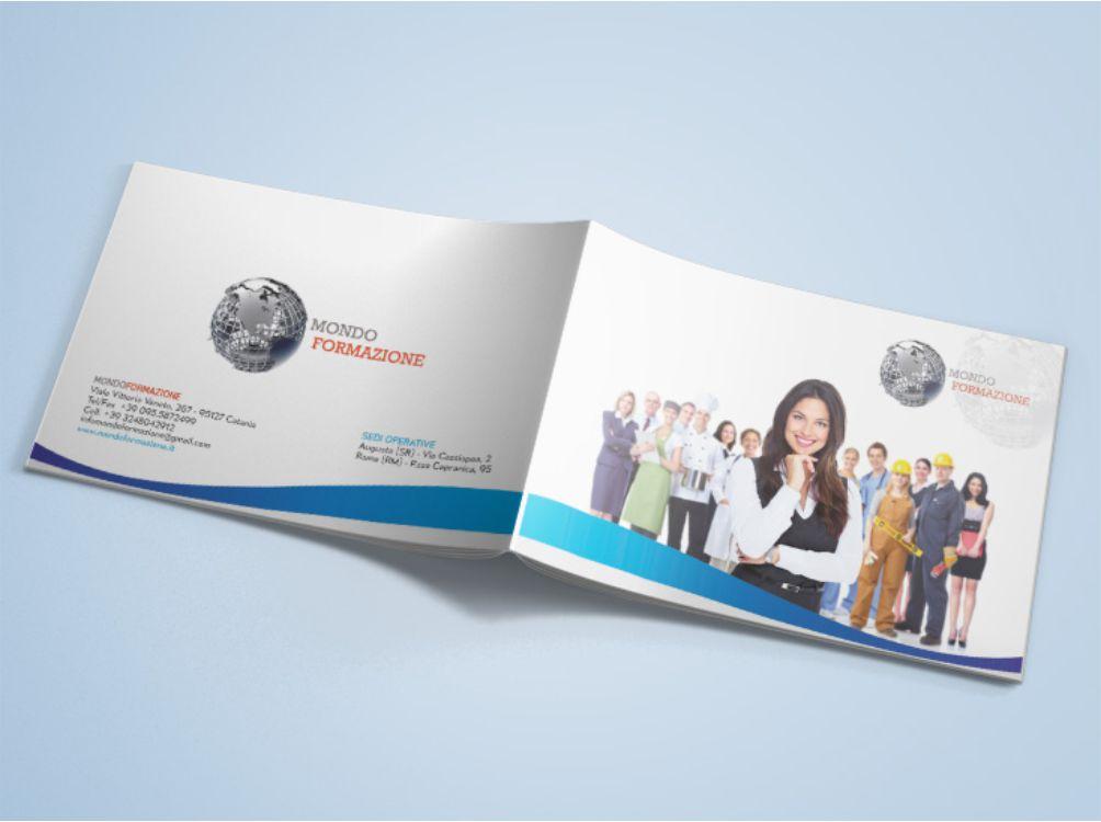 Brochure per Mondo Formazione