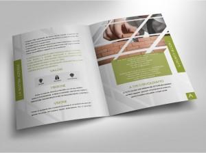 progettazione grafica e realizzazione brochure aziendale