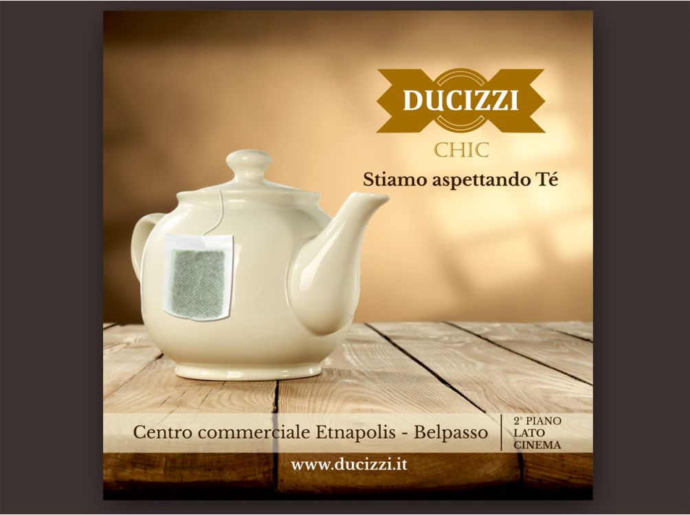 Cartolina Ducizzi Chic e PiazzaGrande Wedding