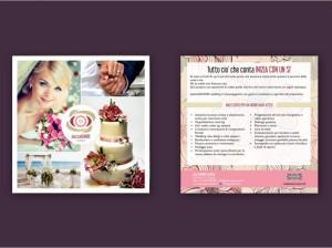 Cartolina Ducizzi Chic e PiazzaGrande Wedding