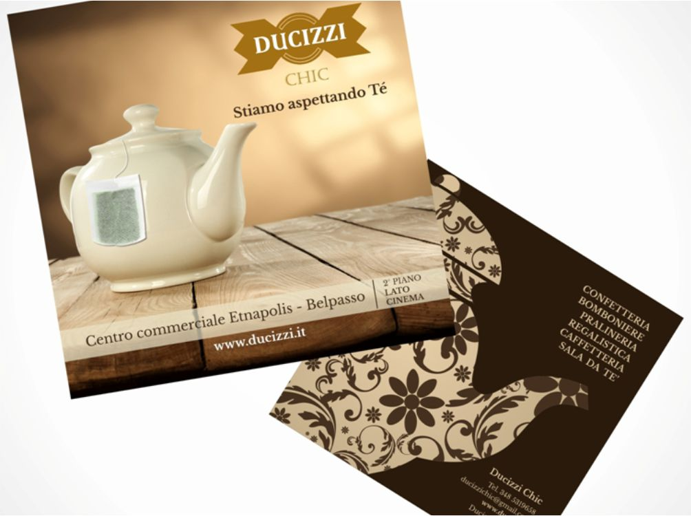 Cartoline Ducizzi Chic e PiazzaGrande Wedding