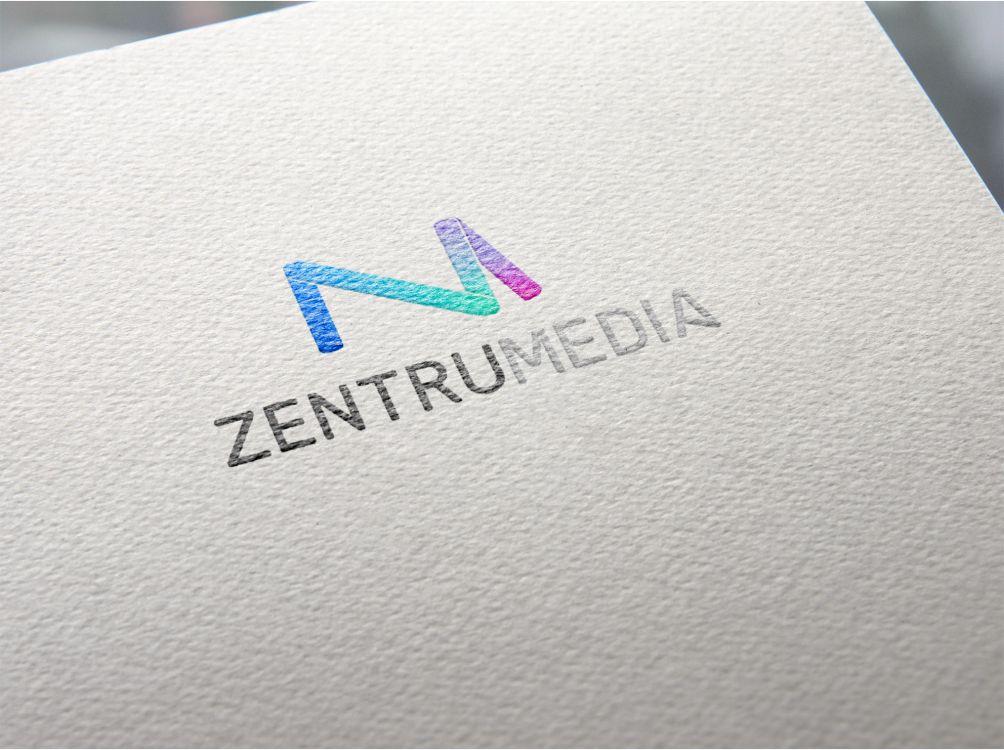 Zentrumedia - logo e corporate identity per agenzia di comunicazione di Tirana