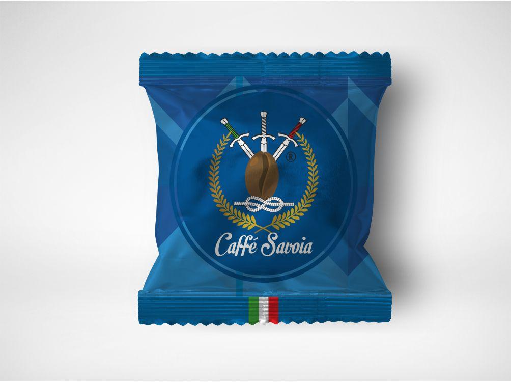 Caffè Savoia packaging busta cialda