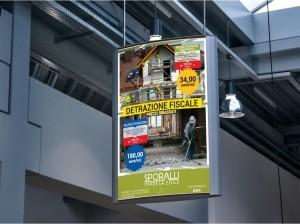 Grafica poster impresa edile