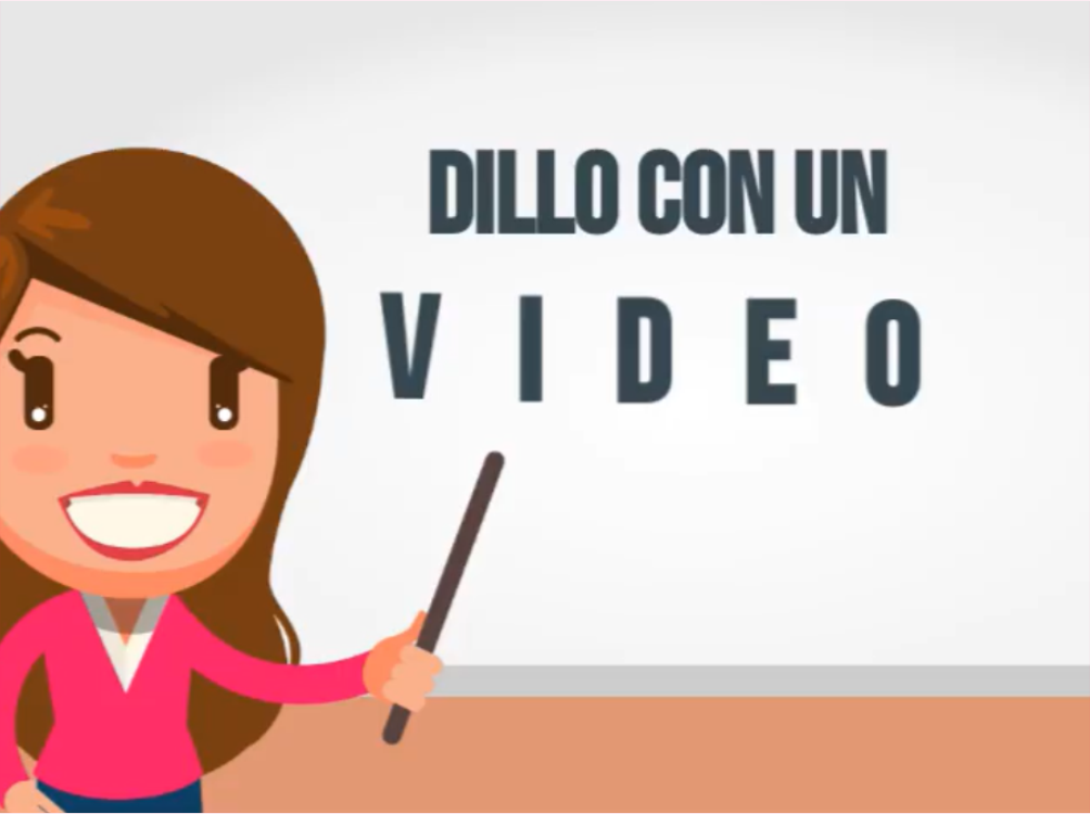 Dillo con un video- Lgraphic