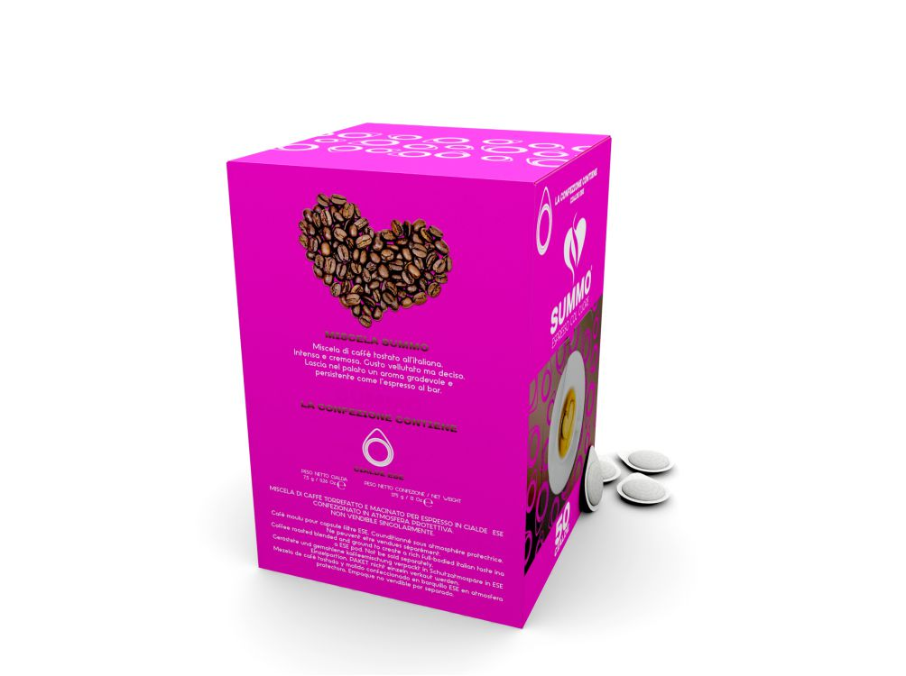 Packaging cialde caffè SUMMO