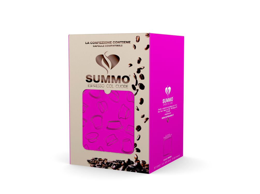 cos'è il rendering SUMMO Packaging